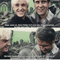 Look at their dorky matching smiles I love it so much tomfelton matthewlewis dracomalfoy nevillelongbottom harrypotter harrypotterandthedeathlyhallows: Guys, come on. Harry Potter isn't over yet, Atleast pretend  ng  My bad Longbottom  wait till isee you at  Hogwarts, Flthy Potterlo Any better?A Look at their dorky matching smiles I love it so much tomfelton matthewlewis dracomalfoy nevillelongbottom harrypotter harrypotterandthedeathlyhallows