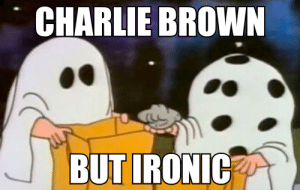 guys its just a halloween costume charlie brown isnt actually racist: guys its just a halloween costume charlie brown isnt actually racist