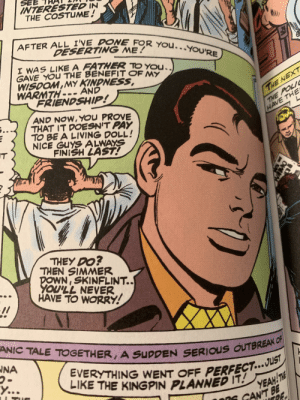 """Guys, J. Jonah Jameson may be on to something here 🤔 (Taken from The Amazing Spider-Man! """"Spider-Man No More!""""): Guys, J. Jonah Jameson may be on to something here 🤔 (Taken from The Amazing Spider-Man! """"Spider-Man No More!"""")"""