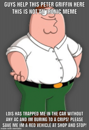 Guys this is serious. We need to save peter griffin: Guys this is serious. We need to save peter griffin