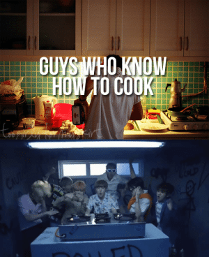 How To, How, and Who: GUYS WHO KNOW  HOW TO COOKE Guys who know how to cook