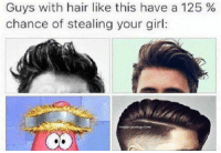 Funny, Pippin, and Tru: Guys with hair like this have a 125  chance of stealing your girl: Tru  - Pippin The Cat