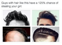 Girls, Girl, and Hair: Guys with hair like this have a 125% chance of  stealing your girl: