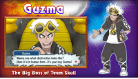 me_irl: Guzma  Guzma  Wanna see what destruction looks like?  Here it is in human form-it's your boy Guzma! v  The Big Boss of Team Skull me_irl