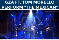 "Target, Http, and Mexican: GZA FT. TOM MORELLO  PERFORM ""THE MEXICAN'""   #FALLONTO NIGHT <p><a href=""http://www.nbc.com/the-tonight-show/segments/114401"" target=""_blank"">GZA performs &ldquo;The Mexican&rdquo; with Tom Morello and The Roots!</a></p>"