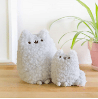 Introducing the regular & mini size Stormy plush! Now available at Hey Chickadee! http://bit.ly/2nx8z70: -H Introducing the regular & mini size Stormy plush! Now available at Hey Chickadee! http://bit.ly/2nx8z70