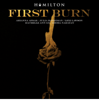 I wrote the FIRST draft of Burn in 2014. It's different, but it's a mood™️. So we got Lacamoire in a room w super producer Mike Elizondo and recorded it with FIVE Elizas, tagged herein. First Burn. Your April #Hamildrop @ Midnight, wherever you are. https://t.co/lRsJNlTwQf: H*MILTON  FIRST BURN  ARIANNA AFSAR JULIA HARRIMAN LEXI LAWSON  RACHELLE ANN GO SHOBA NARAYAN I wrote the FIRST draft of Burn in 2014. It's different, but it's a mood™️. So we got Lacamoire in a room w super producer Mike Elizondo and recorded it with FIVE Elizas, tagged herein. First Burn. Your April #Hamildrop @ Midnight, wherever you are. https://t.co/lRsJNlTwQf