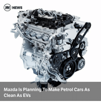 Via @carthrottlenews - The Japanese internal combustion-enthusiasts at Mazda are targeting vast leaps in petrol engine efficiency for future generations: H) NEWS  d0  2  Mazda Is Planning To Make Petrol Cars As  Clean As EVs Via @carthrottlenews - The Japanese internal combustion-enthusiasts at Mazda are targeting vast leaps in petrol engine efficiency for future generations