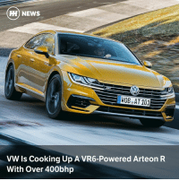Via @carthrottlenews - Wolfsburg has a prototype Arteon powered by a 3.0-litre turbocharged VR6, and a production version could be on the cards: H NEWS  HOBeAT 101  VW Is Cooking Up A VR6-Powered Arteon R  With Over 400bhp Via @carthrottlenews - Wolfsburg has a prototype Arteon powered by a 3.0-litre turbocharged VR6, and a production version could be on the cards