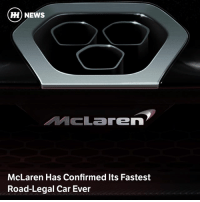 Memes, News, and McLaren: H) NEWS  Laren  McLaren Has Confirmed Its Fastest  Road-Legal Car Ever Via @carthrottlenews - McLaren likes it fast. Project P15 will be faster around a track than the P1 despite having no hybrid assistance, and McLaren has just released the first teaser
