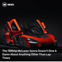 Memes, News, and McLaren: H) NEWS  The 789bhp McLaren Senna Doesn't Give A  Damn About Anything Other Than Lap  Times Via @carthrottlenews - The function-led McLaren Ultimate Series newcomer may not be the most aesthetically-pleasing thing to come out of the MTC, but it's set to be brutally fast