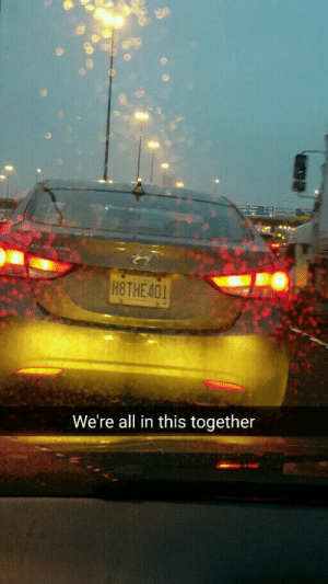 In This Together: H8THE 401  We're all in this together