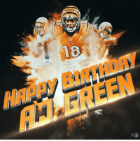 Birthday, Memes, and Happy Birthday: HAay BIRTHDAY  AM GREEN Join us in wishing @ajgreen_18 a HAPPY BIRTHDAY! 🎉 https://t.co/QrS6GJmNWL