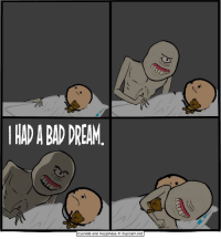 """<p>Wholesome Cyanide &amp; Happiness via /r/wholesomememes <a href=""""http://ift.tt/2xewUFc"""">http://ift.tt/2xewUFc</a></p>: HAD A BAD DREAM  Cyanide and Happiness O Explosm.net <p>Wholesome Cyanide &amp; Happiness via /r/wholesomememes <a href=""""http://ift.tt/2xewUFc"""">http://ift.tt/2xewUFc</a></p>"""