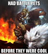 Hipster Hunter: HAD BATTLE PETS  BEFORE THEY WERE COOL Hipster Hunter