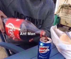 Beef, Trap, and Thanos: had  beef  Ant Marn  Thanos  sshole  Depsi Thanos is a trap