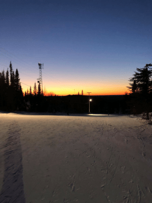 Had this view while skiing with my girlfriend tonight!: Had this view while skiing with my girlfriend tonight!
