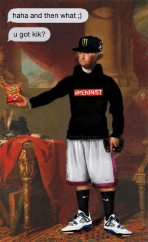 Fuckboy, Kik, and Photoshop: haha and then what;)  u got kik?  nbev:  in my commercial art class we had to incorporate pop culture into an old painting and i decided to photoshop george washington into a fuckboy.i turned this into my teacherfor a gradethat affects my gpa