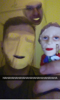 Snapchat Face Swap Ghost