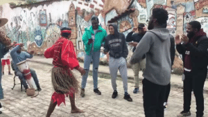 hailneaux: When African American and Afro Cuban culture connect Video from: @stephswanty : hailneaux: When African American and Afro Cuban culture connect Video from: @stephswanty