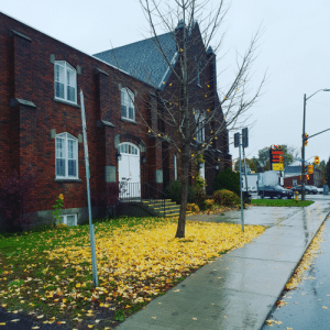 """""""Autumn is another spring when every leaf is a flower."""" - Albert Camus. Kingston, Ontario, Canada: HAKIM  OPTIC  FREE FRA  50% OFF  SALE  RONALD  VATCHER  MEMORIAL  HALL  1955  AD """"Autumn is another spring when every leaf is a flower."""" - Albert Camus. Kingston, Ontario, Canada"""