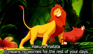 https://iglovequotes.net/: Hakuna matata  It means no worries for the rest of your days. https://iglovequotes.net/