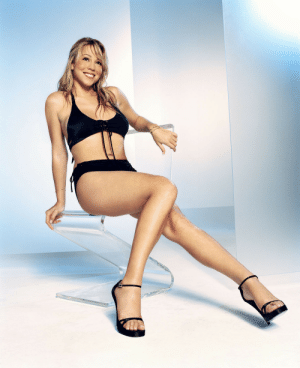 Mariah Carey, Tumblr, and Blog: halalboyfriend:    Mariah Carey photographed by George Holz for FHM Magazine 2001
