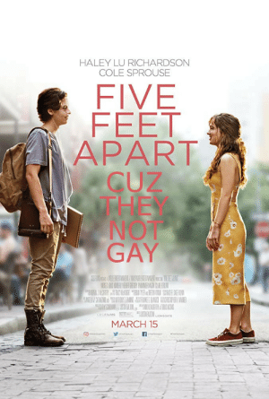 Cbs, Dank Memes, and Cole Sprouse: HALEY LU RICHARDSON  COLE SPROUSE  FIVE  FEET  APART  GUZ  THE  NO1  GAY  CBS FILMS  ONSGATE  MARCH 15  f I cried
