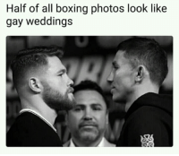 "<p>Bamboozled again! via /r/memes <a href=""http://ift.tt/2xpdsW2"">http://ift.tt/2xpdsW2</a></p>: Half of all boxing photos look like  gay weddings <p>Bamboozled again! via /r/memes <a href=""http://ift.tt/2xpdsW2"">http://ift.tt/2xpdsW2</a></p>"