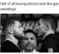 Boxing, Memes, and 🤖: Half of all boxing photos look like gay  weddings Damn
