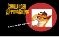 Foe, New, and Appeared: HALLENTER  PPROACHING  A new foe has appeared https://t.co/DzW8soXbef