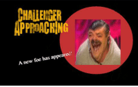 Foe, New, and Appeared: HALLENTER  PPROACHING  A new foe has appeared https://t.co/oomBOQPhFE