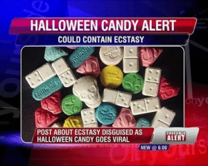 Candy, Halloween, and Yo: HALLOWEEN CANDY ALERT  COULD CONTAIN ECSTASY  yo  POST ABOUT ECSTASY DISGUISED ASCONSOT  HALLOWEEN CANDY GOES VIRAL  ALERT  NEW 6:00 im goin trick or treating this year