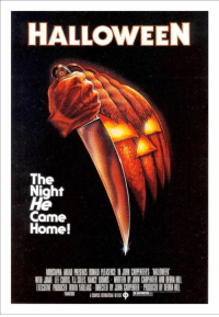 38 years ago, #Halloween was released in theaters!: HALLOWEEN  The  Night  He  Came  Home!  MUSTAPHA AKKIARSENIS MNNID REASEEI JM CIAPENTERS WIINEB『  WITH JAMIHE CIMIS PIES. NANCY 100MS RITEN BY N CARPENTER AND DERIHUI  EXECUINE PRODUCER ANIN YABLANS ECIED BY JOHN CARPENTER-PRODUCED BY HARI 38 years ago, #Halloween was released in theaters!