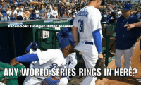 After almost 30 years, I guess you have to find some creative places to find a World Series ring.  #_AJ08: Halospac  Facebook: Dodger Ha  ANY WORLDESERIES RINGS IN HEREp After almost 30 years, I guess you have to find some creative places to find a World Series ring.  #_AJ08