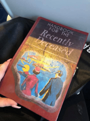 HANDBOOK FOR THE Recently Deceased | for Meme on ME ME