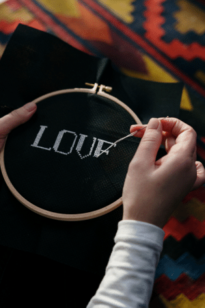 Handmade Embroidering Guess What is Last Word?: Handmade Embroidering Guess What is Last Word?