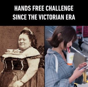 the love for tea never changes.  📸 Right pic: maaysk1220 | TW: HANDS FREE CHALLENGE  SINCE THE VICTORIAN ERA the love for tea never changes.  📸 Right pic: maaysk1220 | TW