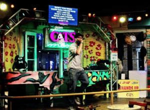 Friends, Memes, and Happy: HANDS IID Happy #HumpDay  - come by #CatsMeow at 4pm and celebrate! 3-4-1 Happy Hour until 8pm! Hit the karaoke stage with friends and show us how it's done! . . . #catskaraoke #karaoke #bourbonstreet #happyhour #drinks