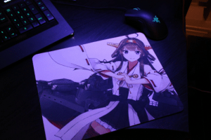 Love, Tumblr, and Blog: hanokaze:  The mouse pad that I custom ordered came in today and I love it!!