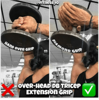 Books, Click, and Head: HAnp oveR  ono  OveR GRIP  OveR-HeAD DB TRICEP  EXTensIOn GRIP 📝👆USE THE DIAMOND GRIP SOLDIERS FOR THIS EXERCISE! _ 🌍💻 Herculesworkouts© Online Personal Coaching! 🏋🍽 - The 12 Week Fitness & Meal Programs are the ultimate guide to achieving your goal physique, no shortcuts, no bullsh!t, just real natural results! _____ What's Included: 🔹Personalized programs based on your filled out questionnaire. 🔹Fitness: An overvieuw of how manipulating rep ranges throughout the week, the best ways to build muscle mass and strength, suitable for man and women, based on your training frequency and much more! 🔹Nutrition: how many calories and macronutrients you need per day, how to enjoy foods you love and still get in shape, based on your budget and possibility to mealprep and much more! 🔹The science behind gaining lean muscle mass and losing body-fat written down in our E-books which are added to your program! 🔹Unlimited personal contact during your process, unique extra tips and information, evaluation and tips! 🔹Available for men and women! - Wake up the Hercules in you! Go visit at herculesworkouts.com or click the link in the bio of our page: 👉 @herculesworkouts 👈 👉 @herculesworkouts 👈 👉 @herculesworkouts 👈 👉🏻 @shredded_hercules 👈🏻 👉🏻 @shredded_hercules 👈🏻 👉🏻 @shredded_hercules 👈🏻 ____