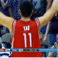 Throwback to Shawn Marion's game winning inbounded alley. @pass Tags: Yao GameWinner Rockets Mavs: HAO  HOU IgG DAL  95 4TH  :00.4 21 MAVS BASKETBALL Throwback to Shawn Marion's game winning inbounded alley. @pass Tags: Yao GameWinner Rockets Mavs