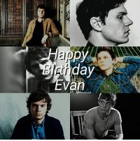 Happy 30th birthday Evan Peters! You'll always be my favorite actor and I love you so much, hope you have a wonderful day @booboodaddy ❤: Happ  day  eahsclub Happy 30th birthday Evan Peters! You'll always be my favorite actor and I love you so much, hope you have a wonderful day @booboodaddy ❤