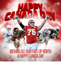 Wishing all our Canadian fans a Happy #CanadaDay! 🇨🇦  @NFLCanada https://t.co/hLQOoWX44o: HAPPV  NFL  7  WISHING ALL OUR FANS UP NORTH  A HAPPY CANADA DAY Wishing all our Canadian fans a Happy #CanadaDay! 🇨🇦  @NFLCanada https://t.co/hLQOoWX44o