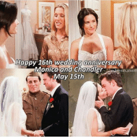 Happy Wedding Anniversary Monica And Chandler chandlerbing monicagellerbing 16thweddinganniversary mondler 15thmay2001 15may2017: Happy 16th wedding anniversary  Monica and Chandler  fends pivott  May 15th Happy Wedding Anniversary Monica And Chandler chandlerbing monicagellerbing 16thweddinganniversary mondler 15thmay2001 15may2017