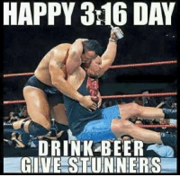 And that's the bottom line...  ~Days: HAPPY 316 DAY  DRINK BEER  GIVE STUNNERS And that's the bottom line...  ~Days