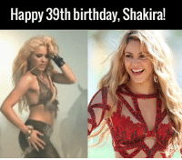 Dank, 🤖, and Shes: Happy 39th birthday, Shakira! She's not changed a bit...