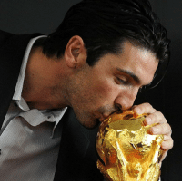 Memes, World Cup, and Brazil: Happy 39th birthday to Gianluigi Buffon! The legendary goalkeeper represented Italy at Brazil 2014, his fifth successive FIFA World Cup, a record which includes a memorable victory at Germany 2006. HappyBirthday TantiAuguri Buffon Gigi WorldCup Italy Italia Azzurri Juventus Juve legend @azzurri @juventus