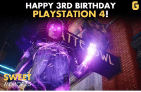 PlayStation, Ps4, and Video Games: HAPPY 3RD BIRTHDAY  G  PLAYSTATION 4!  MEMORI The PS4 is 3 years old already! Aaaaaand i'm feeling old now... #SweetMemories