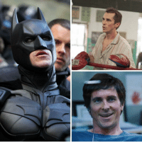 Batman, Birthday, and Memes: Happy 45th Birthday to Christian Bale. Oscar winner, vice-president, Batman.